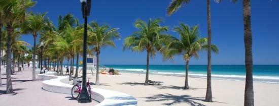 Passagem em promoção para Fort Lauderdale (EUA) por R$ 1270, R$ 1456 e R$ 1618