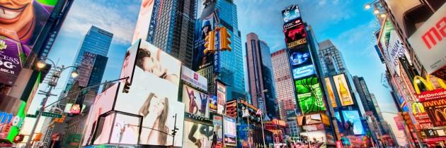 Passagem aérea promocional para 2014 e 2015 indo para Nova Iorque por R$ 1448 saindo de São Paulo