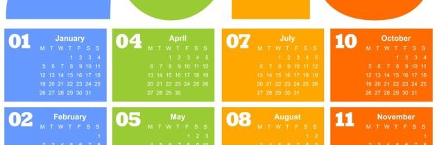 Feriados nos Estados Unidos em 2015 e Datas Comemorativas