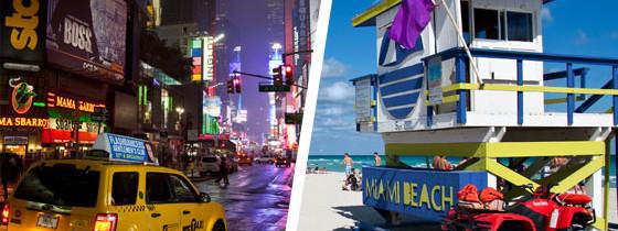 Nova Iorque e Miami por R$ 1261 para Janeiro de 2015!