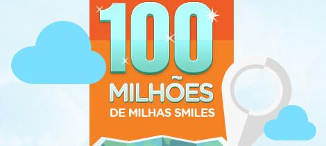 GOL faz promoção que sorteará 100 MILHÕES de Milhas