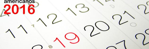 Feriados e Datas Comemorativas em 2016 nos Estados Unidos