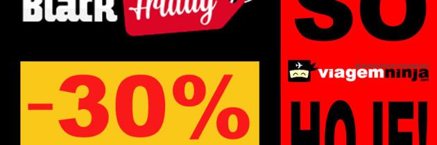 BLACK FRIDAY pra Seguro Viagem! Só hoje! 30% de Desconto!