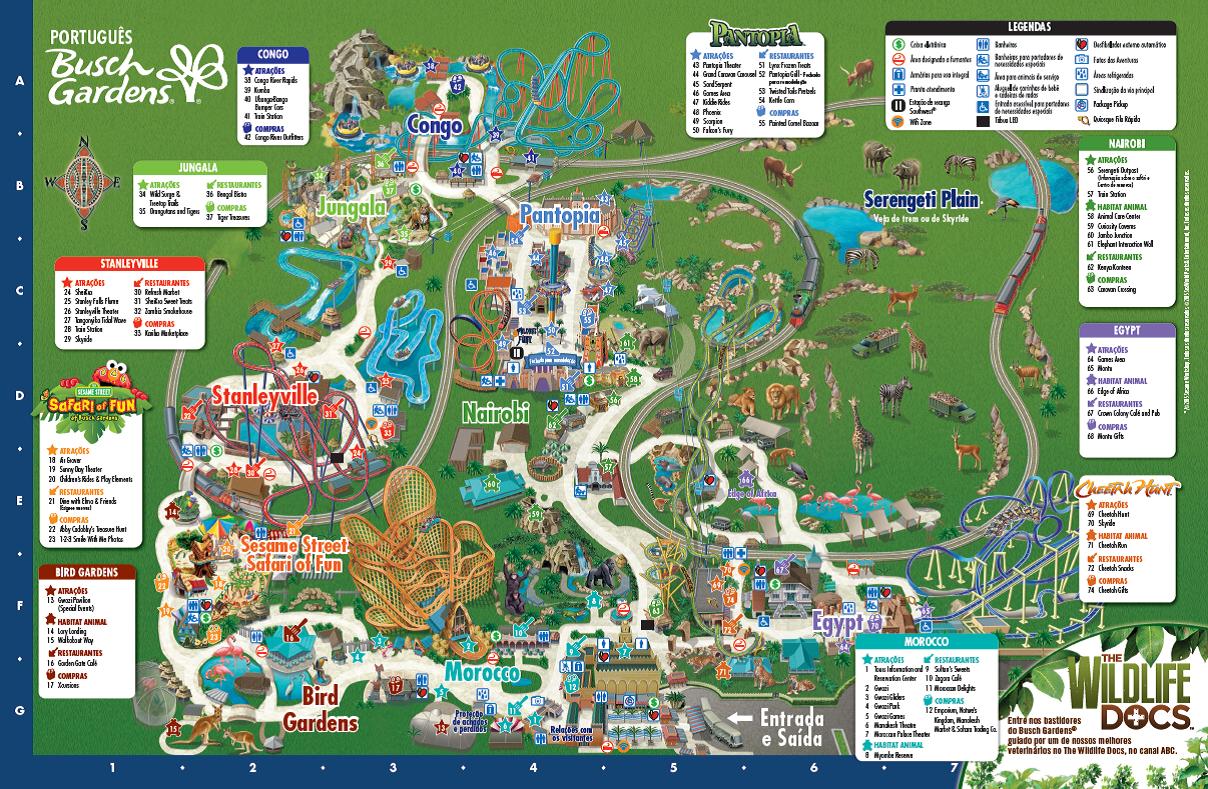 Image Result For Busch Gardens P Os Online