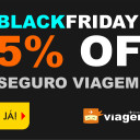 Black Friday em Seguro Viagem com Desconto de 35%
