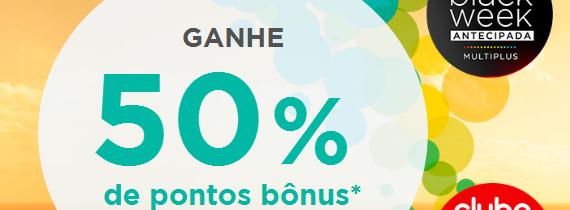 Promoção de Pontos Multiplus Dá 50% de Bônus Válidos para Vários Bancos