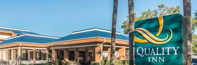 Hotel Quality Inn em Orlando, na International Drive