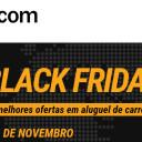 Imperdível! Black Friday em Locação de Carro na Rentcars
